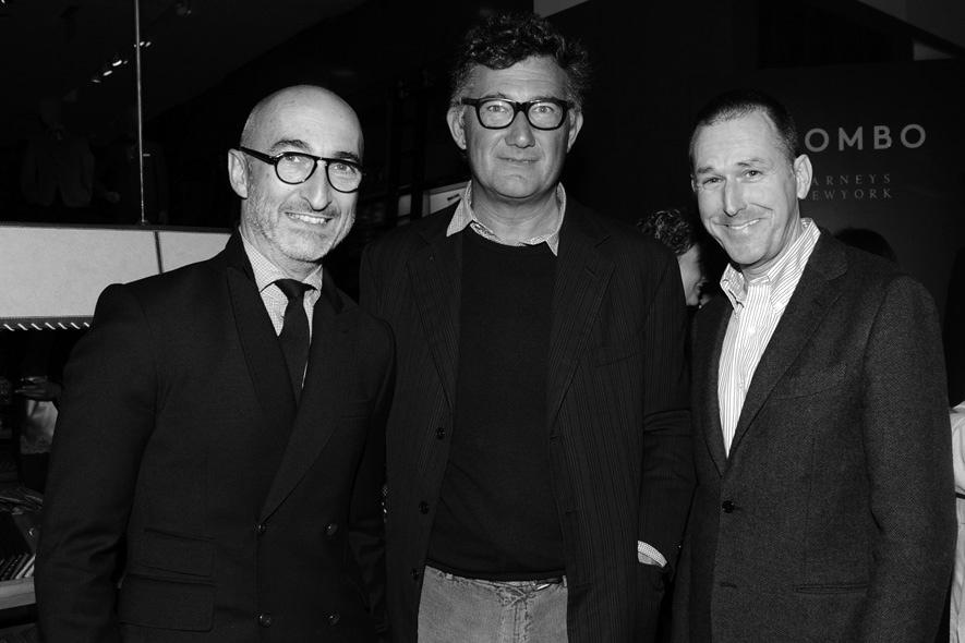 Pierre Hardy, Massimo Piombo, Mark Lee
