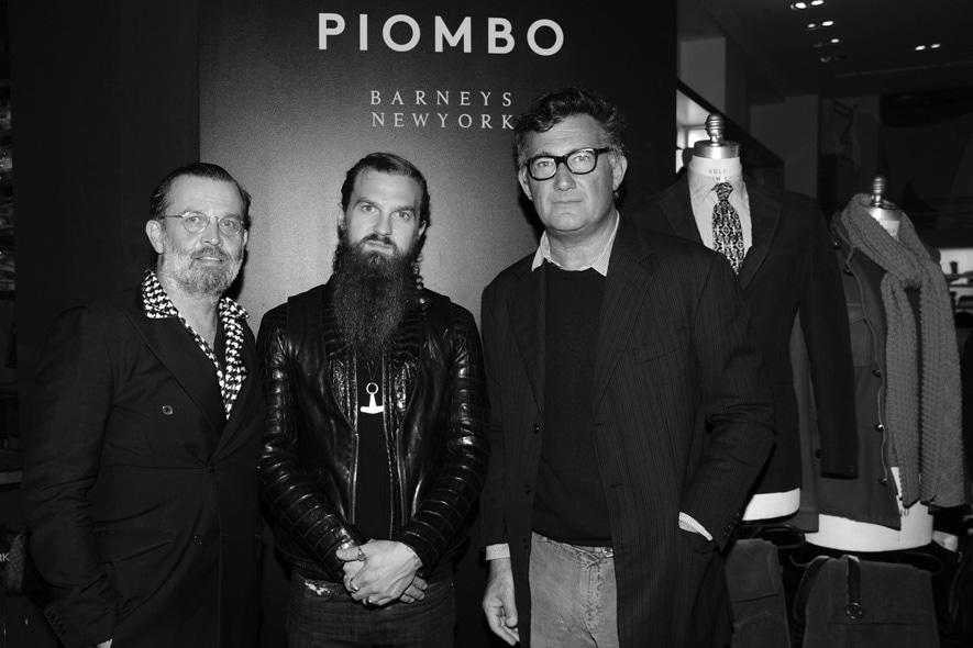 Robert Rabensteiner, Max Snow, Massimo Piombo