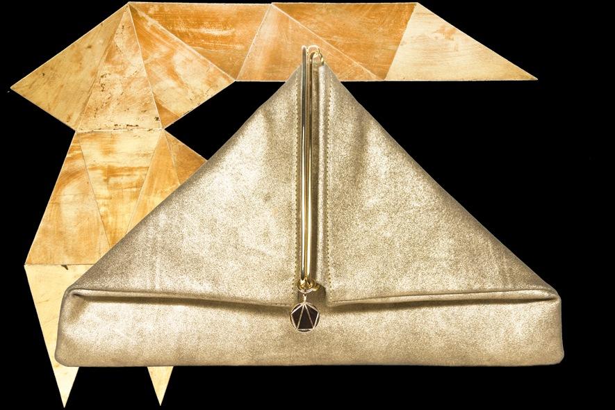 Simone Rainer borsa a triangolo
