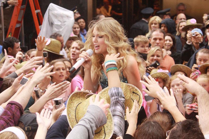 T Swift Lapresse fan