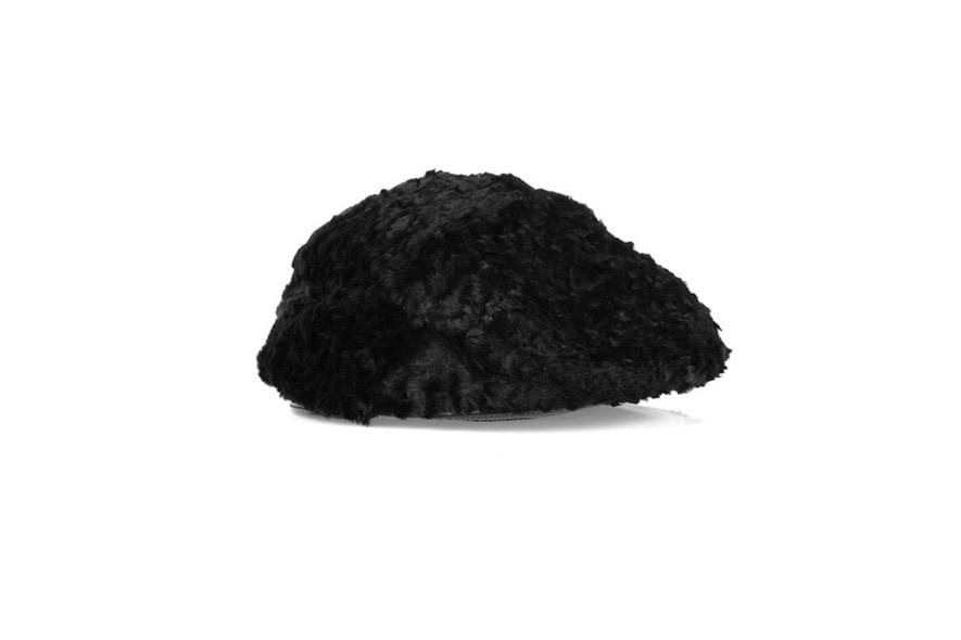 05 burberry prorsum rabbit flat cap