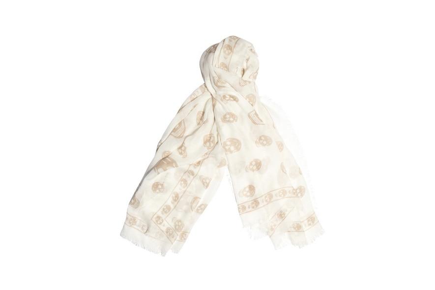 16 sciarpa alexander mcqueen
