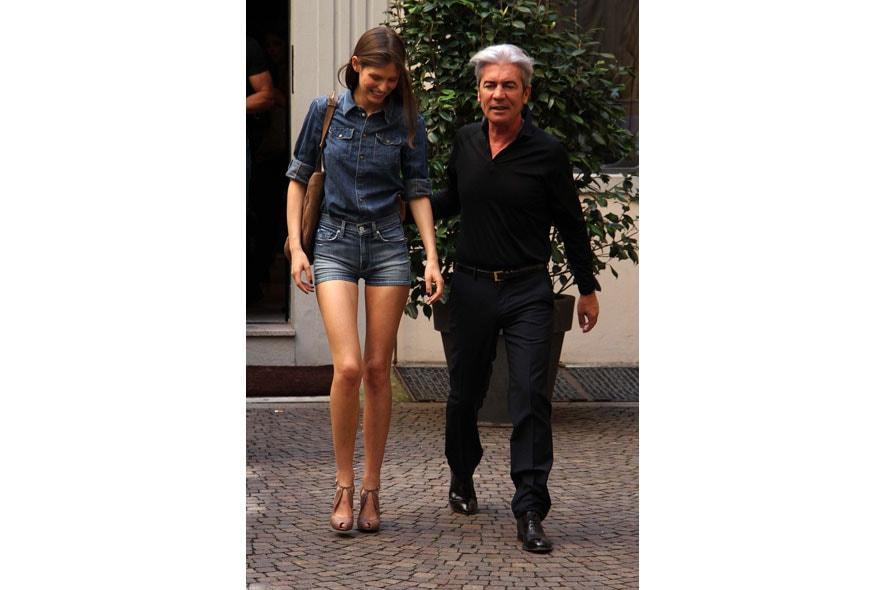 Bianca Balti e Cesare Paciotti