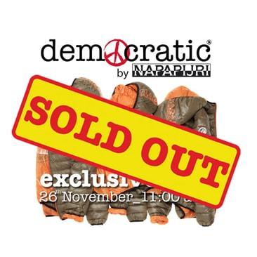 Coin Democratic Napapijiri sold out