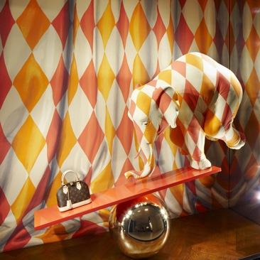E' arrivato il circo di Vuitton!