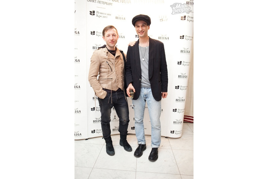 Sergei Lukovsky – founder of LMA and show director and Aleksander Nagorny – managing director of LMA Model Agency