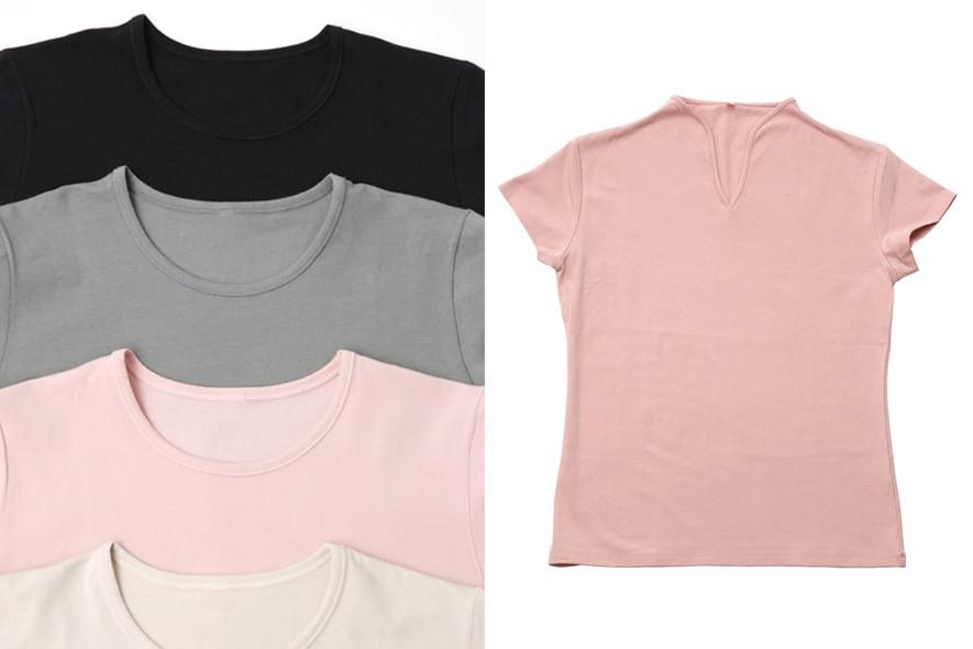 T shirt in cotone riciclato