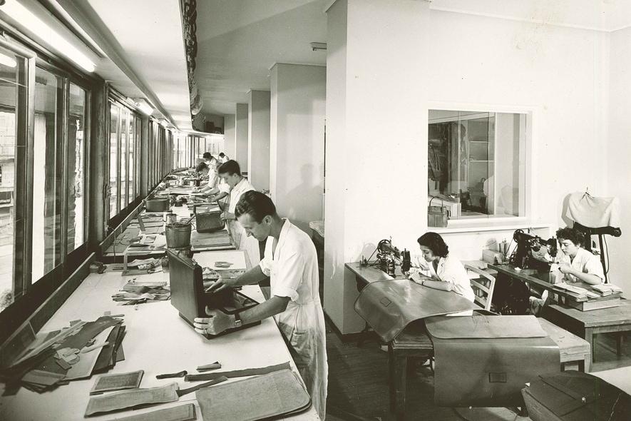 Valextra laboratorio d'epoca