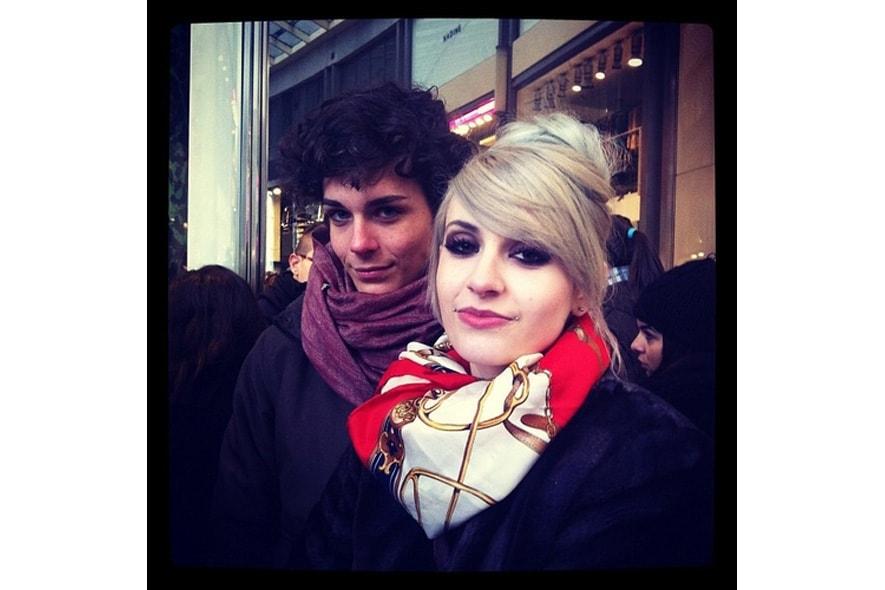 elena e l'amico fidato giorgio