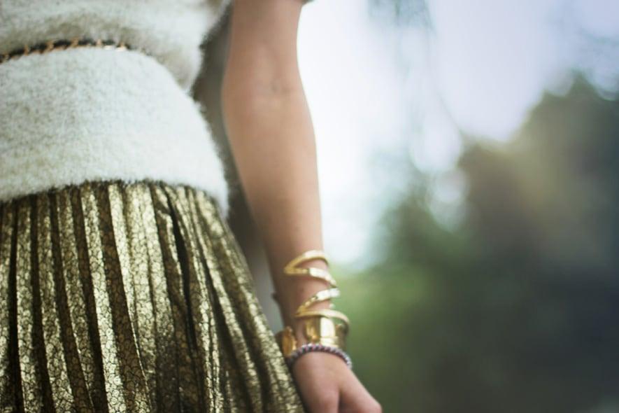 gold skirt2