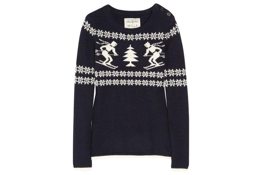 wool sweater di Aubin& Wills