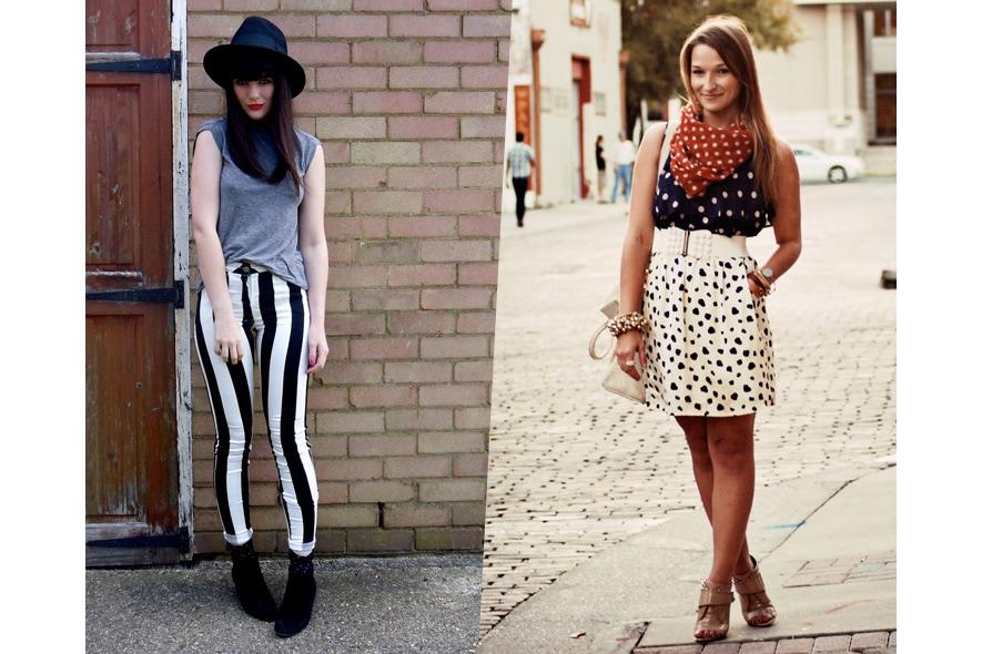 1 FashionBlogger DotsStripes 885×590