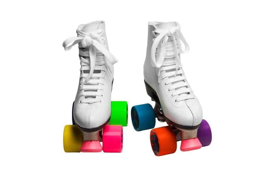 Colorblock RollerSkatesHERO