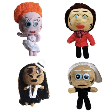 Fashion icon per le bamboline Mua Mua