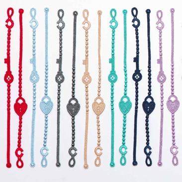 I nuovi braccialetti di Cruciani