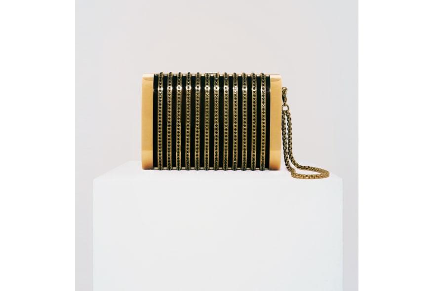 Stark clutch deco oro nero