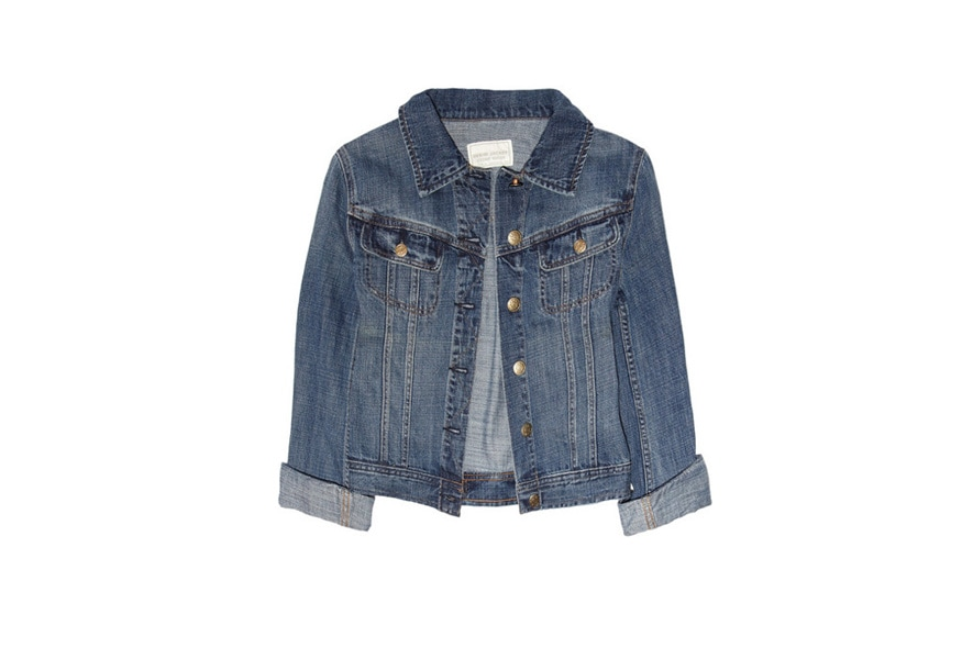 giacca di jeans J crew