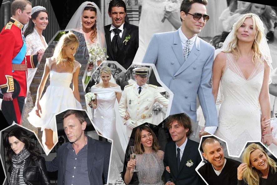 Matrimoni da Star: i più celebri del 2011