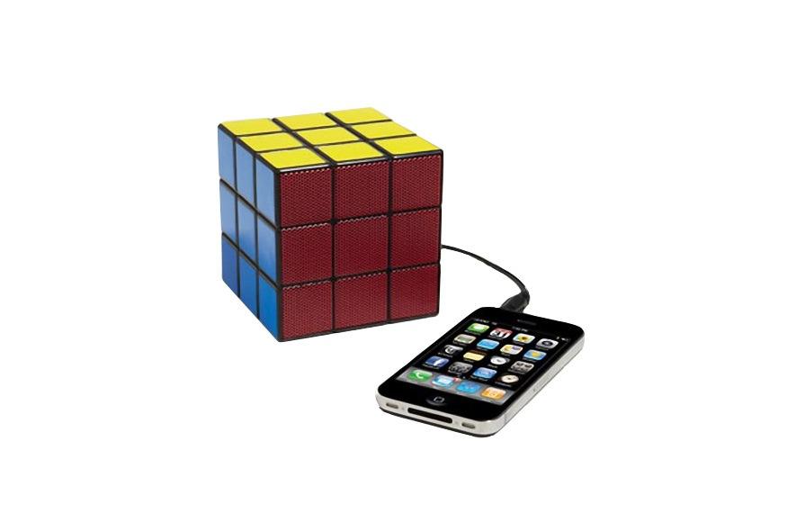rubiks cube portable speaker