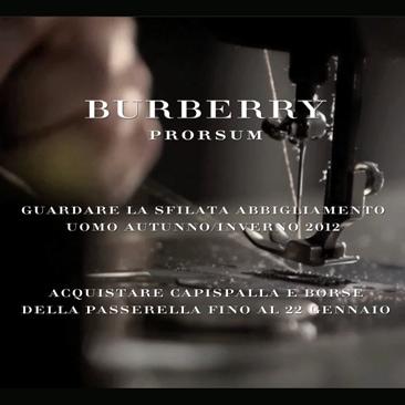 Burberry: dalla passerella al vostro guardaroba