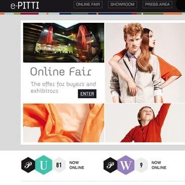 E-Pitti e le fiere virtuali