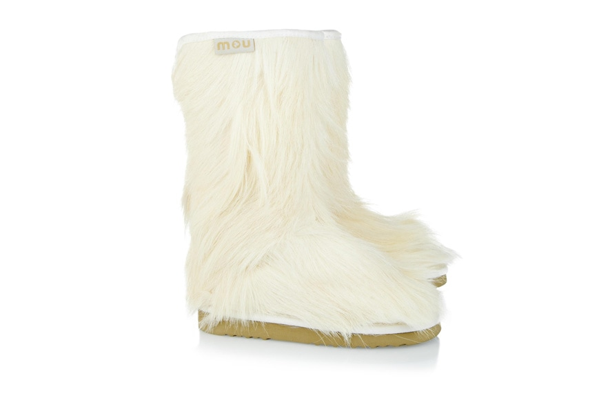 Goatskin Cowboy goat hair boots by Mou available at NET A PORTER
