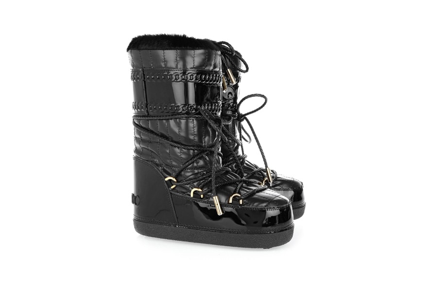 Grove shearling trimmed snow bootsby Jimmy Choo available at NET A PORTER