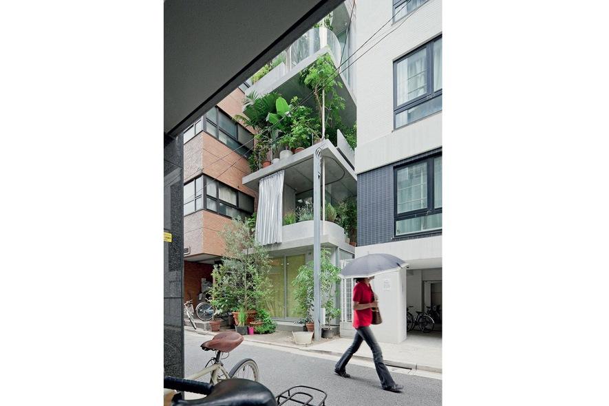 House and Garden , il giardino verticale di Ryue Nishizawa 2 �Iwan Baan
