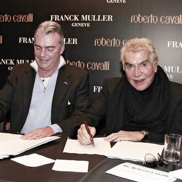 Nuovo accordo tra Roberto Cavalli e Franck Muller