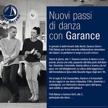 Petit Bateau e Garance atto secondo