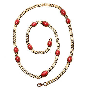 Rosso brillante per Emilio Pucci
