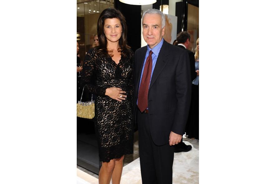 12 Opening Event of Pomellato Boutique in Rodeo Drive Actress Daphne Zuniga and CEO Pomellato Andrea Morante
