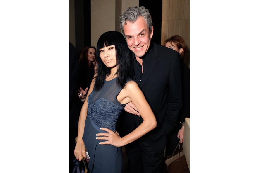 16 Opening Event of Pomellato Boutique in Rodeo Drive Actress Bai Ling and Actor Danny Huston