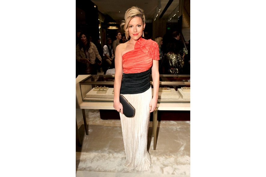 21 Opening Event of Pomellato Boutique in Rodeo Drive Actress Kathleen Robertson