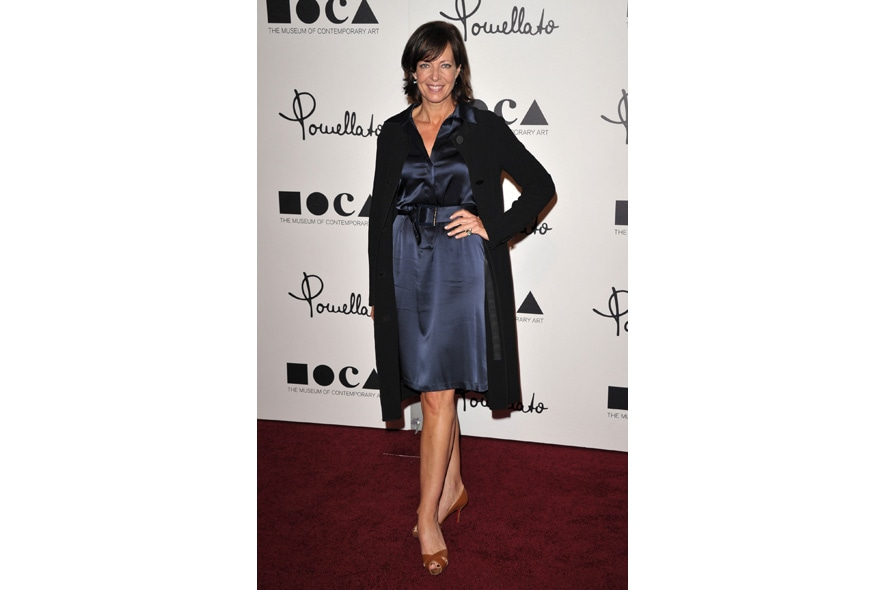 28 Opening Event of Pomellato Boutique in Rodeo Drive Actress Allison Janney