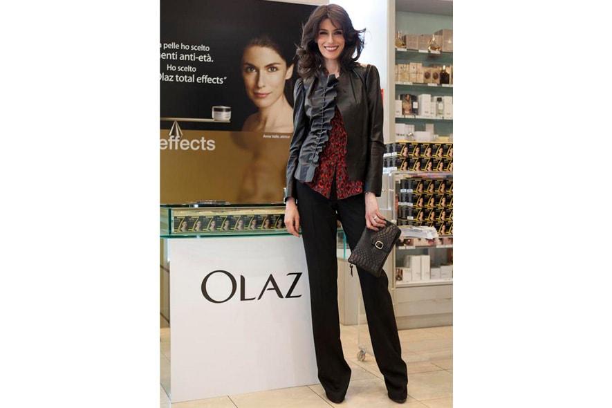 Anna Valle è stata nominata, per il terzo anno, ambasciatrice di bellezza da Olaz