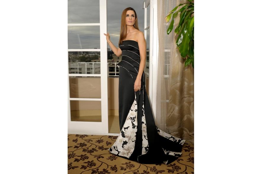 Il bellissimo abito disegnato da Armani per il red carpet dei Golden Globes