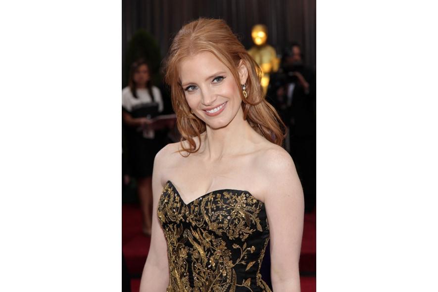 Jessica Chastain Oscar 2012
