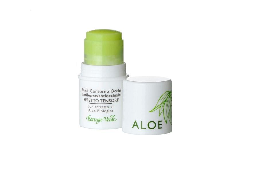 Lo stick di Bottega Verde all'Aloe biologica combatte borse e occhiaie
