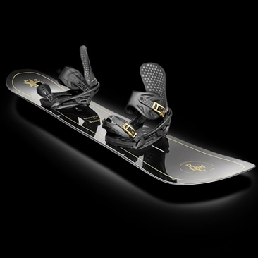 Luxury snowboard