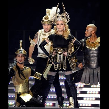 Madonna brilla al Superbowl