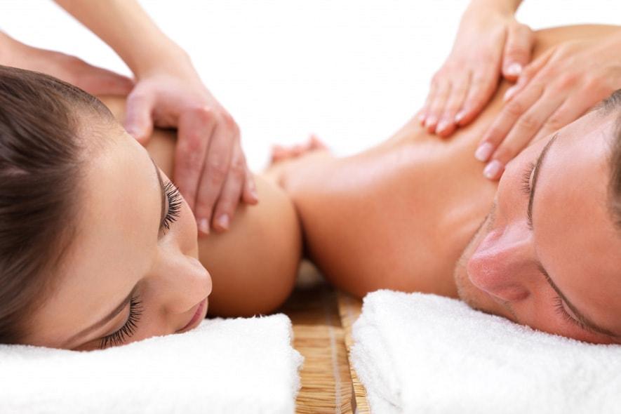 Massaggio di coppia all'Aspria Harbour Club SPA