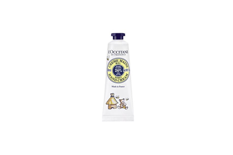 Miele combinato al karitè per la crema mani de L'Occitane