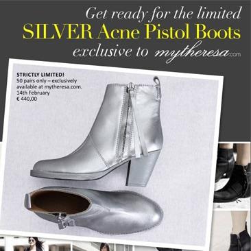 Mytheresa e gli  ankle boots stellari