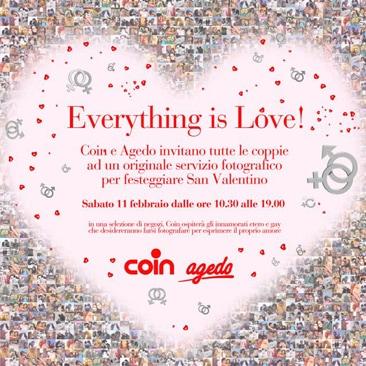 Siete innamorati? Coin e  Agedo vi aspettano!