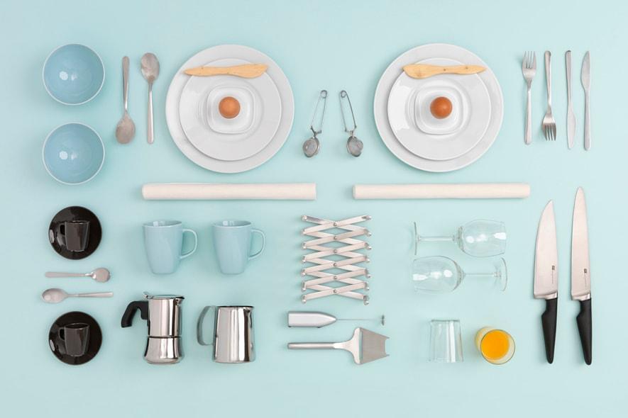 Start kit, la tavola della colazione