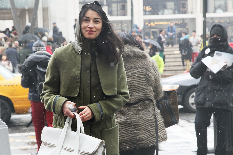 New York Fashion Week Street Style: 11 Febbraio