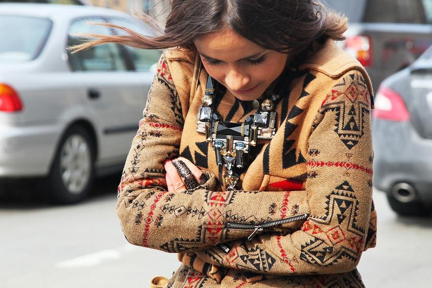 New York Fashion Week Street Style: 12 Febbraio