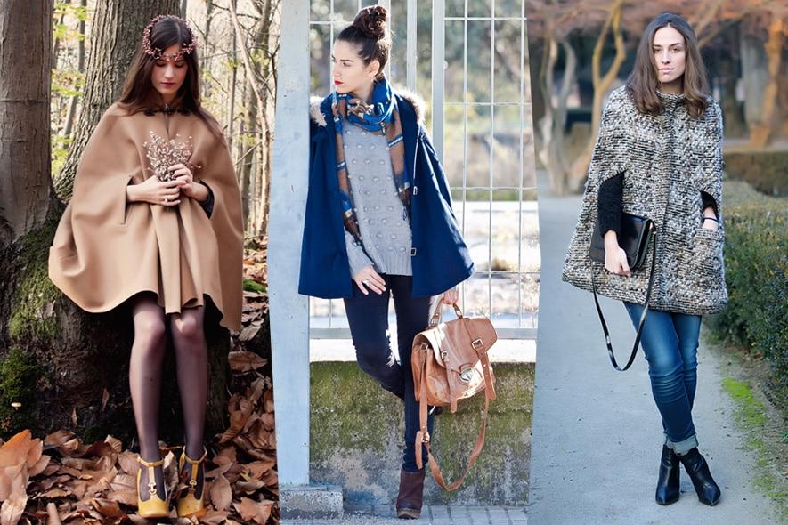 Trend: cappe e mantelle per l'inverno
