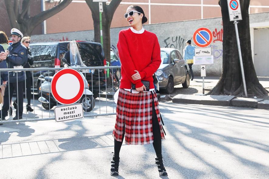 Milano FW Street Style: 25 febbraio